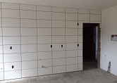 Colocação de azulejos